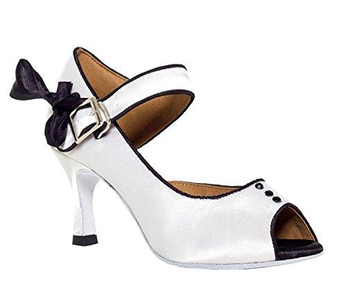 Minitoo ,  Damen Tanzschuhe , weiß - weiß - Größe: 35