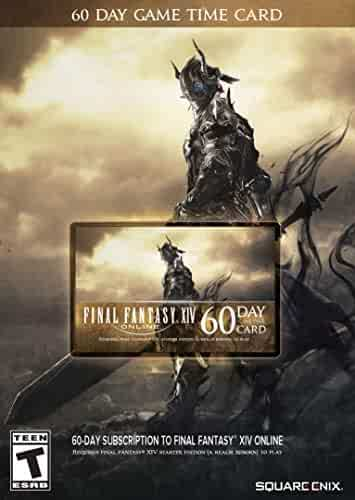 Final Fantasy XIV Online: 60 Day Time Card [Online Game Code]