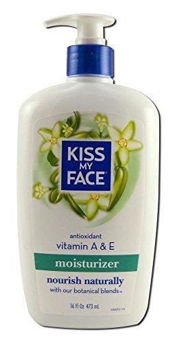 Kiss My Face Body Lotion Vitamin A & E 16 oz