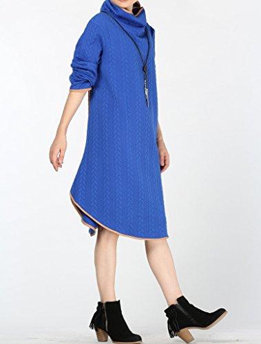 MatchLife - Sudadera - para mujer Thin-Blue Medium