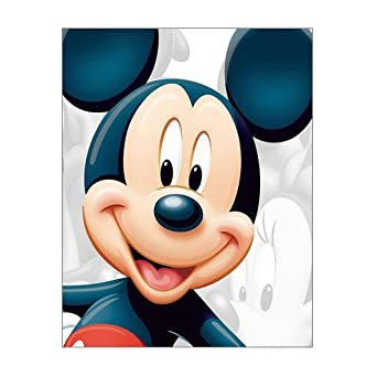 Scottshop Custom Mickey Mouse Gallery Wrapped Canvas Print 11quot X 14quot Inch