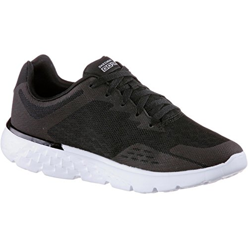 Skechers Damen Fitnessschuhe Black/White Trim