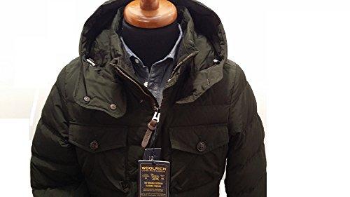 Dark Field Green Piumino Navy Woolrich Scuro D'oca 6377 Pocono Verdone Blu Jacket Wocps2487 wtBtU4WqX