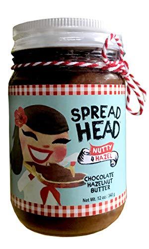 Chocolate Hazelnut Butter — Keto, All Natural, Low Carb, Vegan & Paleo SpreadHead