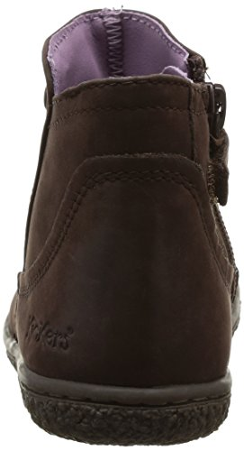 Boots Kickers Veston Kickers fille Marron Boots Veston pqSwqn8f