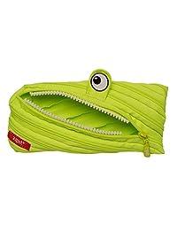 Zipit ZTM-BEN-1 Monster Pencil Case - Bright Lime