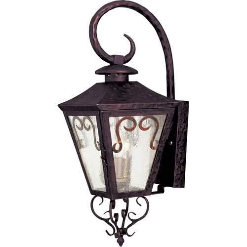 Maxim Lighting Cordoba Oil Rubbed Bronze 3-Light Outdoor Wall-Mounted Lantern 30154CDOI (Cordoba Outdoor Lanterns)