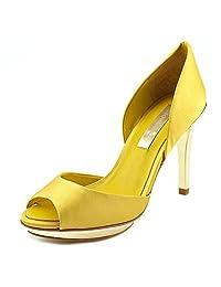 BCBG Max Azria Osario Peep Toe Platform Heel Women