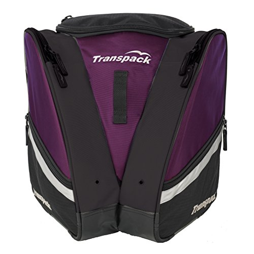 Transpack Compact Pro Ski/Snowboard Boot and Gear Bag Backpack Plum - Compact Plum