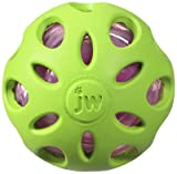 Petmate 47014 Dog Toy, Crackle Head Ball, Medium - Quantity 36