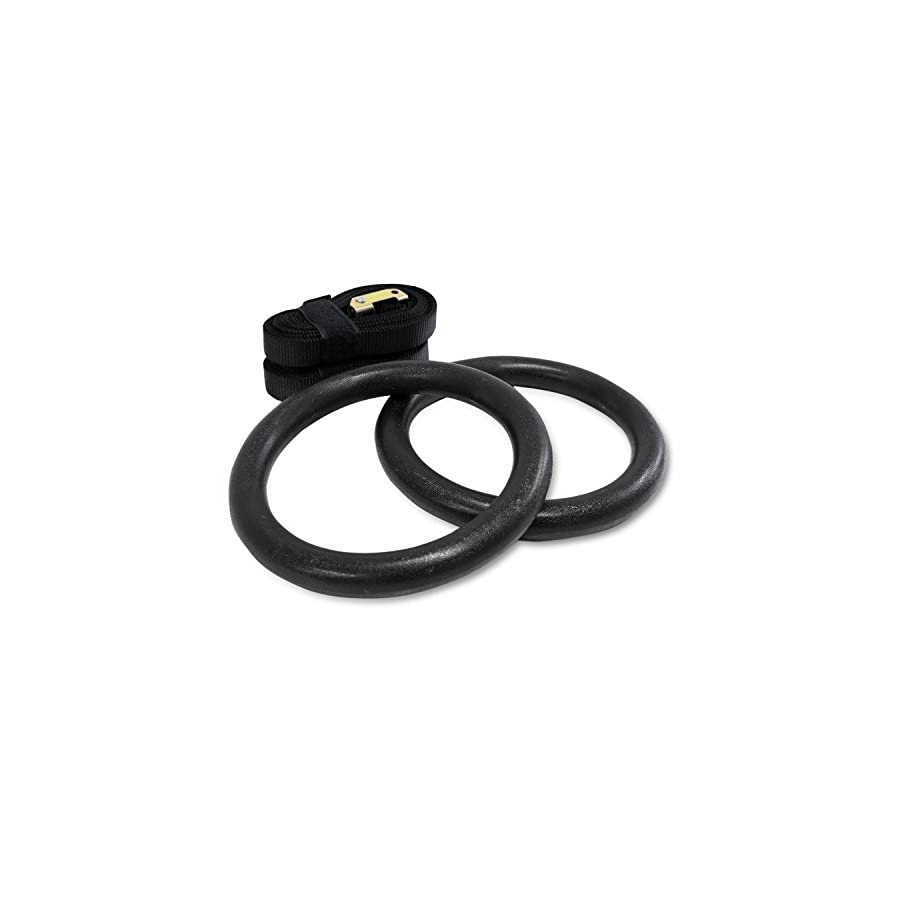 NEXPro ABS plastic Gymnastic Ring Olympic Strength Training Gym Rings for Crossfit