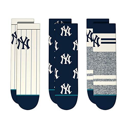 - Stance T110A18YA2 Toddler's YANKEES TODDLER 2-4 Socks, Multi - 2-4