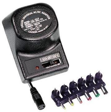 PHC 300mA, 3-12 Volt Universal AC Adapter - UL