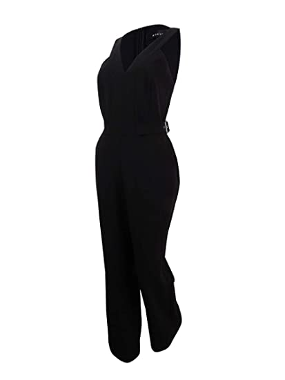 3765a2f4173d Amazon.com  Adelyn Rae Womens Andrea Woven Jumpsuit  Clothing