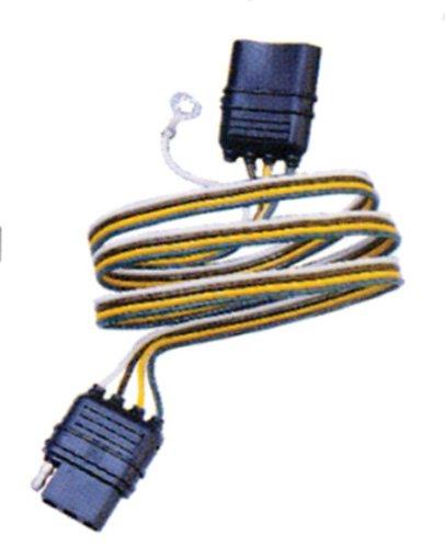 Hopkins Towing 47105 4-Wire Flat Modular Trailer Plug ()