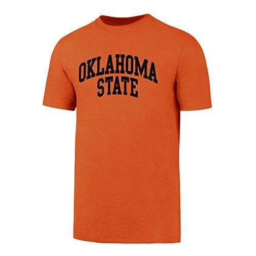 OTS NCAA Oklahoma State Cowboys Men's Rival Tee, Orange, Large (Oklahoma Basketball Cowboys State)