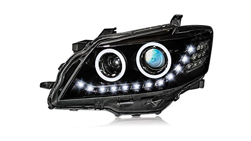 GOWE Car Styling Head Lamp Case For Toyota Camry Headlights 2009-2011 LED Headlight DRL H7 HID Xenon Low Beam bi-xenon lens Color Temperature:6000K Wattage:55W 1