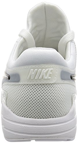 NIKE Womens Air Max Zero Running Shoe White / White-black yRl97mr