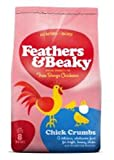 Feathers & Beaky Free Range Chicken Food Chick Crumbs 4kg 4000g