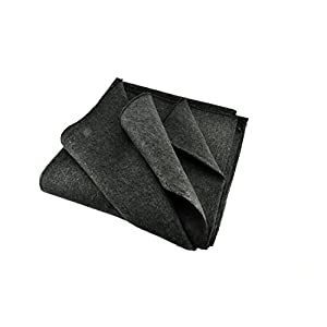 "SE BI51802GR Warm 2 lb. Blanket (51"" x 80"") with 50 70% Wool"