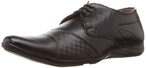 Drivn Men's Black Formal Shoes – 10 UK (OMASC-50031BM0010)