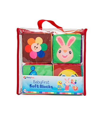 BabyFirst TV - Soft Blocks - PERFECT BIRTHDAY GIFT (Baby First Tv Characters)