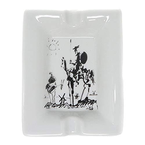 Laie - Pablo Picasso - Ceramic Ash Tray - Don Quixote (1955) ()