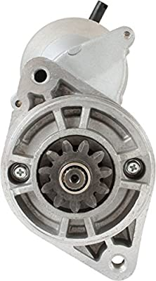 DB Electrical SND0743 Starter for Lister Petter Alpha Range LPA2 LPW2 LPW4 LPWS2 LPWT4 Engine LPWS3 Tractor //757-17980 757-21700//128000-8101 228000-1881 //STR-8104 228000-1880