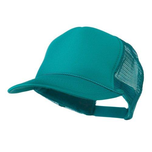 Foam Front Golf Style Mesh Back Cap - Jade OSFM