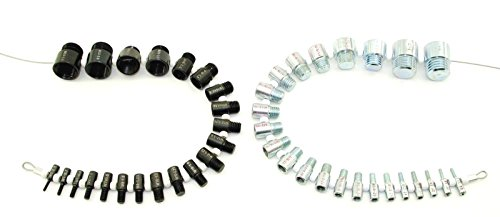 Nut and Bolt Thread Checker (Complete SAE/Inch and Metric Set)