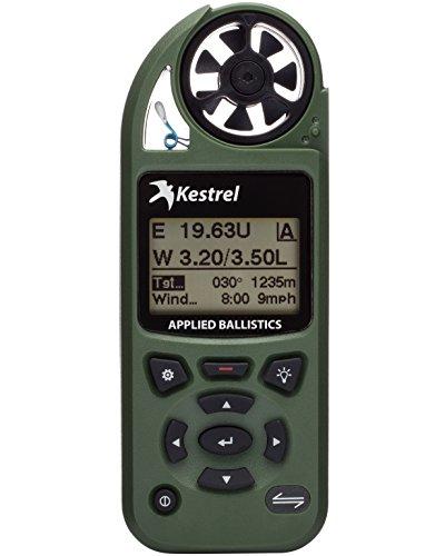 Kestrel 5700 Elite Weather Meter with Applied Ballistics, Olive Drab (Digital Monitor Heat Pocket Index)