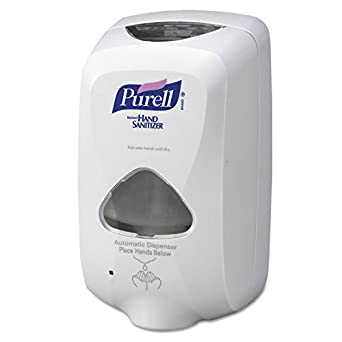 GOJO Industries 315-2720-12 PURELL TFX Touch Free Dispenser, Dove Gray