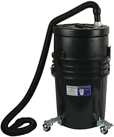 WEN 38005 3.2-Amp 5-Gallon Bucket Vacuum Cleaner with Hose Nozzles and Filter Bag