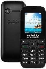 Alcatel OT-1050A Smartphone One Touch, Pantalla de 1.8  Pulgadas, Procesador Spreadtrum SC6531D 312 Mhz, color negro