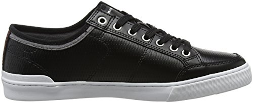 Weiß 990 Sneaker Hilfiger Leather Noir Core Black Basses Tommy Corporate Homme Sneakers 78aPwn4I