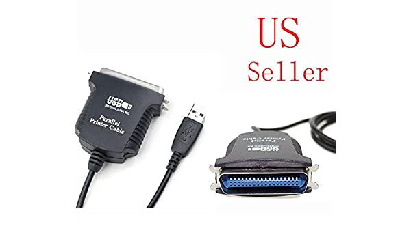 USB to 36 Pin Female Parallel IEEE 1284 Printer Adapter Cable Cord PC