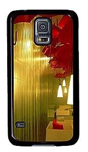 pretty Samsung Galaxy S5 cover Indoor Rain PC Black Custom Samsung Galaxy S5 Case Cover