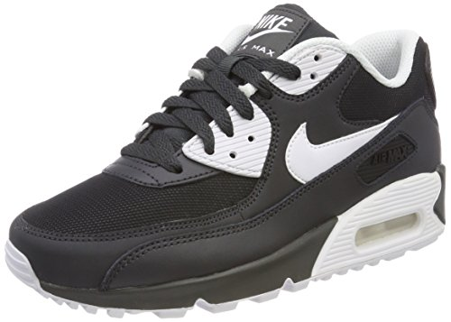 NIKE bla 089 90 Chaussures de Anthracite Max White homme Air Essential Noir running wrq7w1