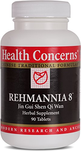 Health Concerns – Rehmannia 8 – Jin Gui Shen Qi Wan Herbal Supplement – 90 Tablets