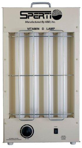 D/UV-F KBD Sperti Fluorescent Table Top Lamp by KBD Sperti