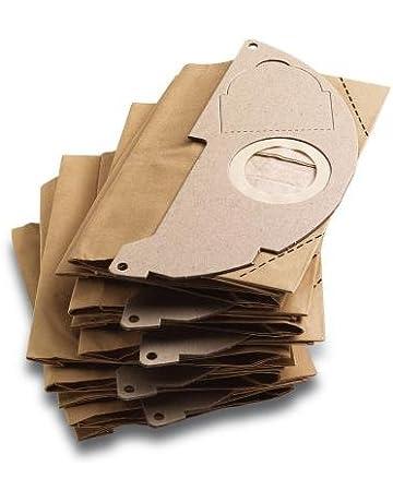 Karcher – Bolsita Filtro papel (X5) para aspiradora agua y POUSSIERES – compatibible con