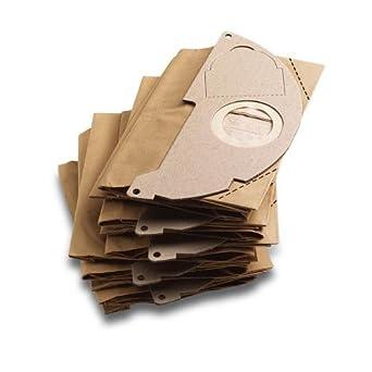 Karcher set of 5 paper filter dust bags for MV2 vacuum cleaner