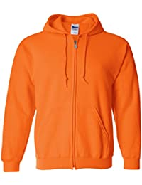 mens Heavy Blend 8 oz. 50/50 Full-Zip Hood(G186)