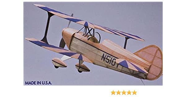 Dumas Pitts Special S1 Kit 229 Wingspan 457mm: Amazon.es: Juguetes y juegos