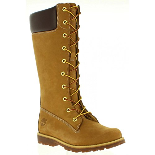 Timberland Youth Tall Trail Beige Boots Classic Asphalt Nubuck UaqBrUOw