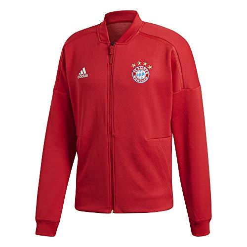 (adidas 2018-2019 Bayern Munich ZNE Anthem Jacket (Red))