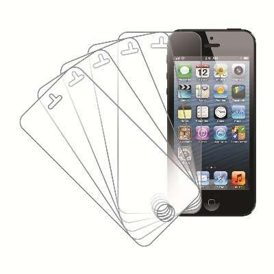 eTECH Collection 5 Pack of Anti-Glare Screen Protectors for Apple iPhone 5/5S/5C AT&T, T-Mobile, Sprint, Verizon (Stuff For The Iphone 5s)