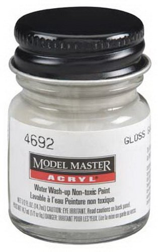 Testor Corp. 4692 Gloss Gull Gray FS16440 1/2 oz ()