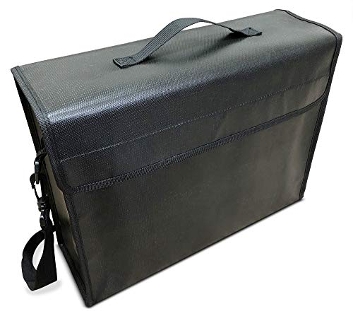 Fireproof Document Bag 2000°F for Money and Files - 15