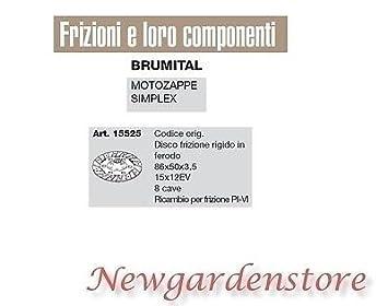 Disco Embrague Duro Ferodo 15 x 12ev Motoazada Simplex brumital ...